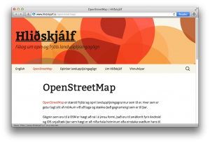 openstreetmap-iceland-website