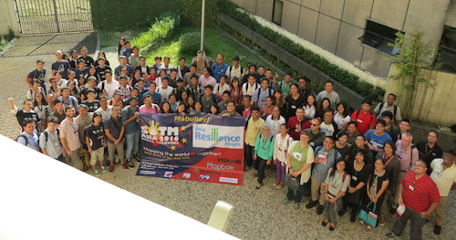Gruppenfoto der State of the map Asia 2016