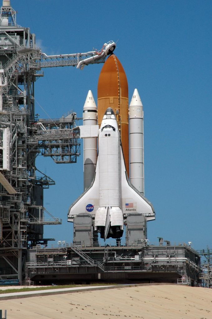 A NASA launchpad